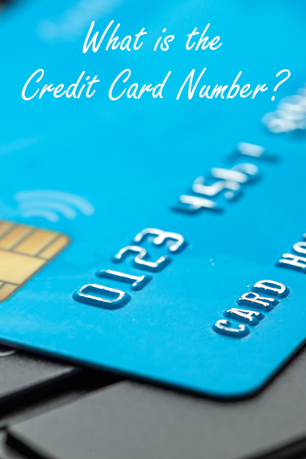 What is the credit card number and key information about it.