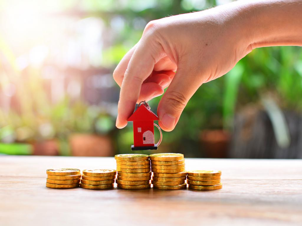 A secured loan will typically use assets such as your house as a guarantee.
