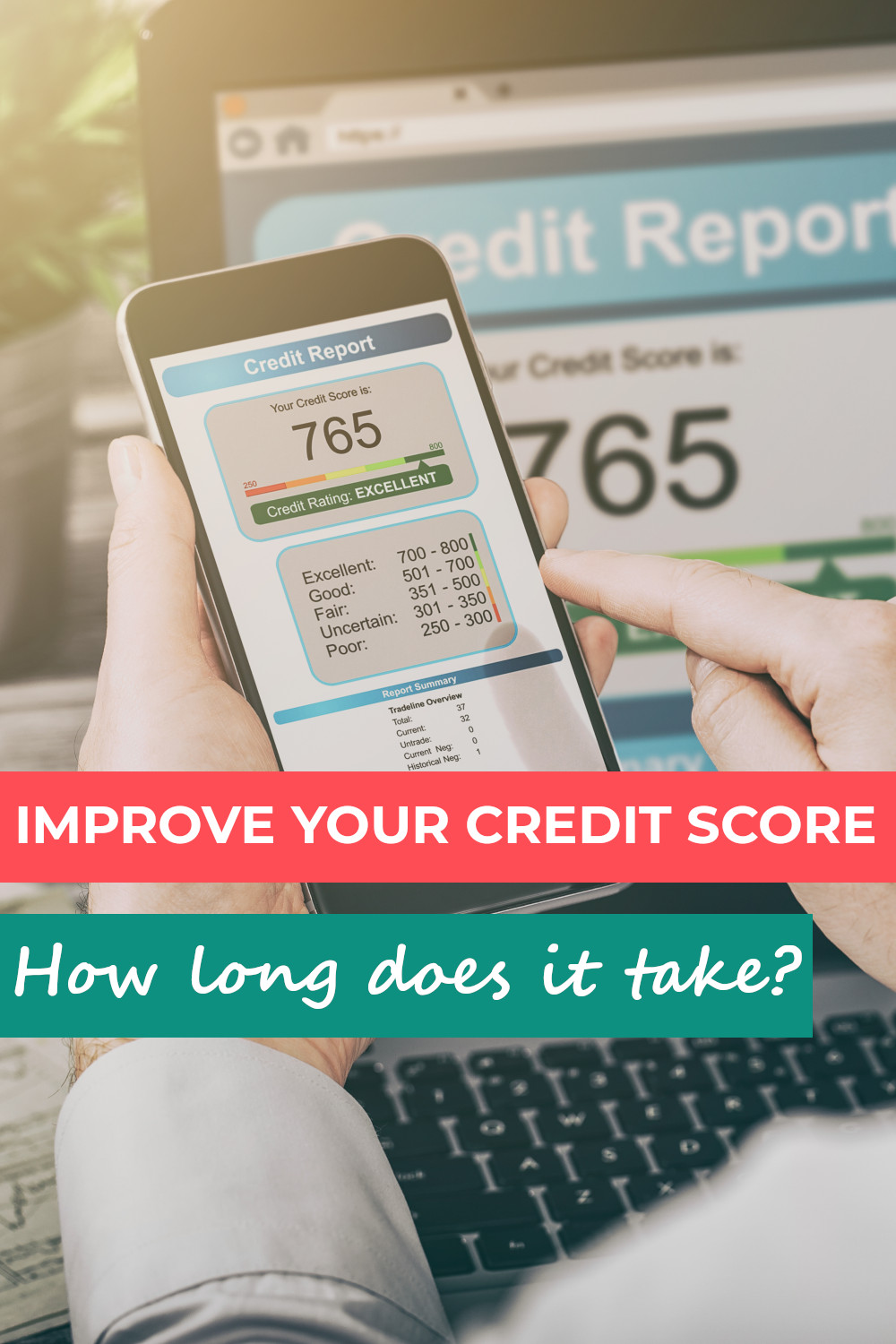 How long does it take to improve your credit score - the complete guide