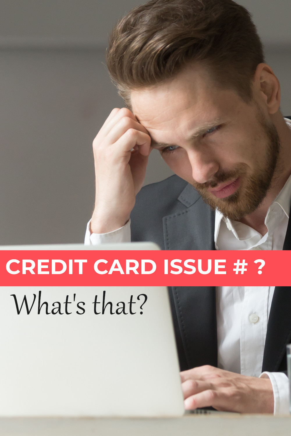 What is a credit card issue number and what do you use it for?