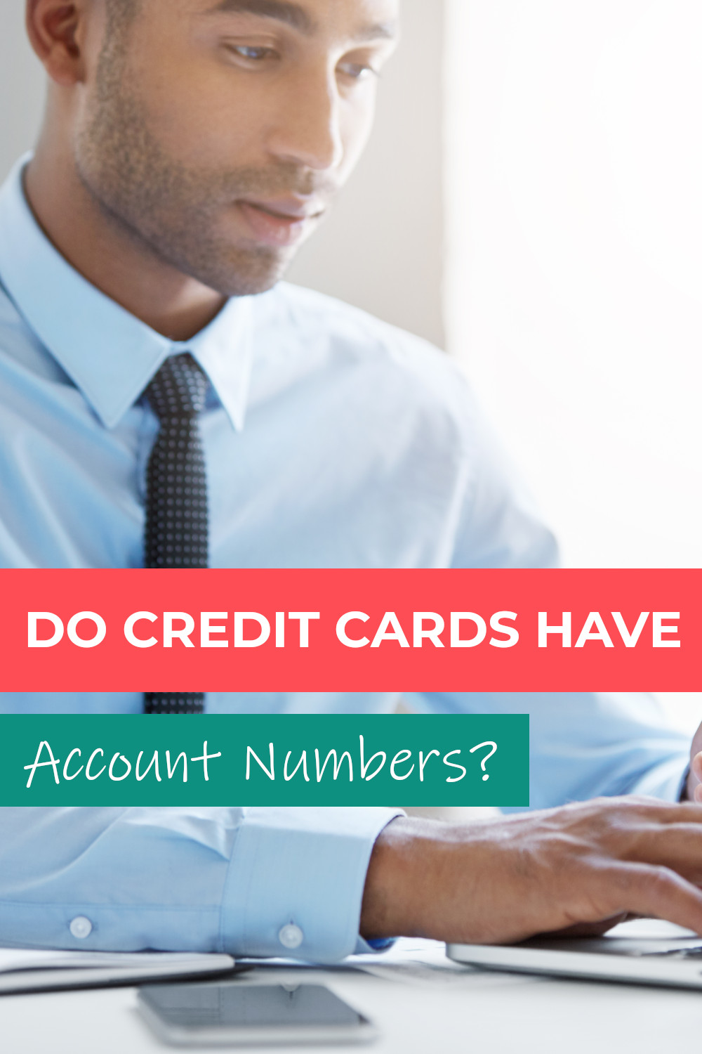 Do credit cards have account numbers?